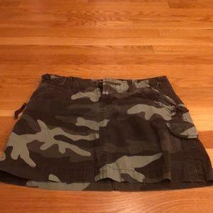 Gap camp mini skirt size 1